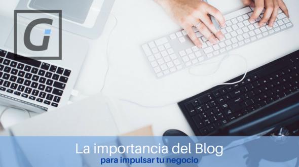 La importancia de escribir en el blog